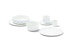 Simple, beautiful and carefree – the new SEVEN dining set encompasses just seven different pieces, each of which exudes a gentle lightness thanks to their pure, archetypical forms. Dining Set, Dining Room, Kitchenware, Tableware, Dinnerware, Table Settings, Porcelain, Plates, Pure Products