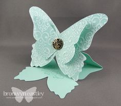 addINKtive designs: MDS, e-Cut, Butterfly Easel Card Tutorial