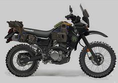 Mercenary Garage: Kawazombie Motorcycle Camping, Scrambler Motorcycle, Moto Bike, Sidekick Suzuki, Dominator Scrambler, Luminaire Original, Klr 650, Stunt Bike, Touring Bike