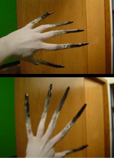 L4D Witch Cosplay, hand test