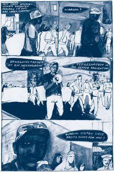 """Excerpt from: """"Im Land der Frühaufsteher""""; Copyright: Paula Bulling / Avant Verlag"""