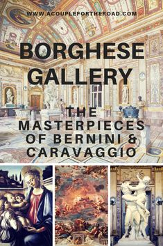 Visit the Borghese Gallery and Gardens in Rome, Italy to see the fantastic masterpieces of Bernini and Caravaggio! Travel Articles, Travel Advice, Travel Guides, Travel Reviews, Travel Hacks, Backpacking Europe, Europe Destinations, Amalfi, Positano