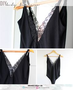 DIY Sewing   Body lencero   DIY Bodysuit