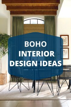 Create the perfect Boho interior design with our top Boho interior design blog tips & tricks! Create a magical Boho living room or love where you sleep in a Boho bedroom! Here are some of our top tips to create your Boho interior dreams.