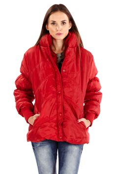Red Bubble Coat | Danice Stores