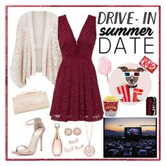 Drive in date by whims-and-craze on Polyvore featuring polyvore, fashion, style, Free People, New Look, Windsor Smith, Judith Leiber, Effy Jewelry, Givenchy, Christian Dior, West Bend, clothing, DateNight, drivein and summerdate
