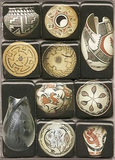 Pottery Images Magnet Set