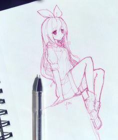 I dunno....random sketch? xD