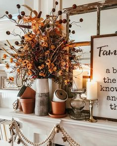 Cool crisp mornings, cozy sweaters, leaves gently twirling to the ground and all the fall colors are calling my name! I think falls my… Fall Home Decor, Autumn Home, Holiday Decor, Autumn Fall, Winter, Booth Decor, Fall Chic, Fall Harvest, Fall Halloween