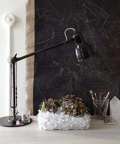 //\\ Make a glass-encrusted planter that looks like a hunk of glimmering quartz. #GemstoneJune