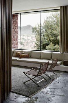 Contemporary minimalism + Earthy textures | Villa E | by Studio KO | Morocco
