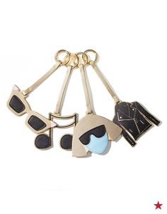 Jazz up your favorite bag with cool clips from Lady Gaga and Elton John's Love Bravery Collection. Add an edgy touch with one of your favorites or make a statement by stacking a bunch.
