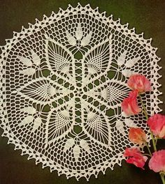 Crochet - Gorgeous Doily - Using Cotton Yarns