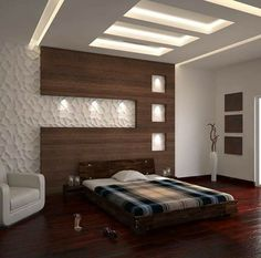 There are a lot of designs to inspire your bedroom with. These designs would vary in theme or color, size, furnitures and would consider eventually, w Indian Bedroom Design, Hotel Bedroom Design, Wardrobe Design Bedroom, Master Bedroom Interior, Bedroom Furniture Design, House Ceiling Design, Ceiling Design Living Room, Bedroom False Ceiling Design, Modern Luxury Bedroom