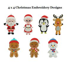 Christmas Bundle Embroidery Design Sets  Christmas by StitchValley