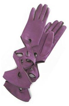 Rose City Archery Synthetic Faux Leather Plain Finger Glove