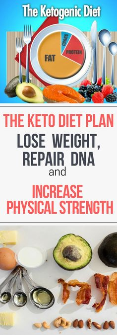 The Keto Diet Plan – Lose Weight, Repair DNA and Increase Physical Strength.!