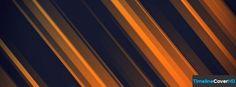 Abstract Orange Stripes Facebook Cover Timeline Banner For Fb17 Facebook Cover