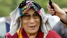 Dalai Lama at Glastonbury