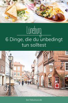 Lüneburg ist eine super schöne Altstadt im Süden von Hamburg und ich teile heute einen Spaziergang mit 6 tollen Dingen, die ich jedem empfehlen kann in Lüneburg zu tun mit euch! #lüneburg #städtereise #reisetipps #deutschland Super, Tricks, German, Explore, Group, World, Travel, Old Town, Persian Restaurant