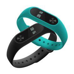 Original Xiaomi Miband 2 OLED Display Heart Rate Monitor Bluetooth Smart Wristband Bracelet Sale - Banggood.com