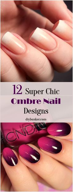 Who knew ombre could look so elegant on your nails? I can't wait to try these out!