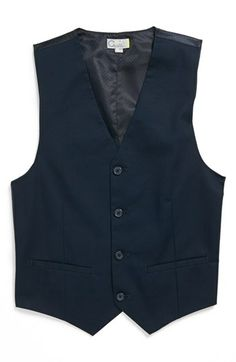 C2 by Calibrate 'Spencer' Stretch Cotton Vest (Big Boys) available at #Nordstrom for Nick?