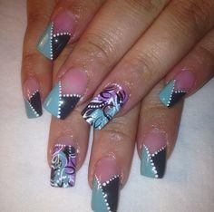 Freestyle nail design