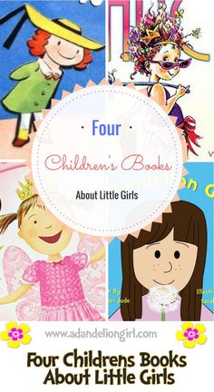All four will make you and your little one feel special, but do you know all four? Super great books for little girls!