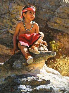 presh native child.