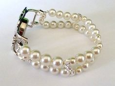 Rhinestone and Glass Pearl Interchangeable by PennysBeadQueen2, $12.00