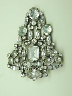 Eisenberg Original Beautiful Dress Clip Jewelry No Reserve   eBay