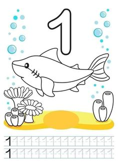 Illustration about Printable worksheet for kindergarten and preschool. We train to write numbers. Illustration of exercises, activity, kindergarten - 96504978 Preschool Writing, Numbers Preschool, Learning Numbers, Writing Numbers, Coloring Worksheets For Kindergarten, Kindergarten Colors, Printable Worksheets, Printable Coloring Pages, Teaching Textbooks