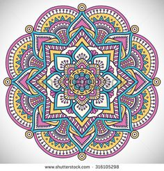 Mandala. Vintage decorative elements. Oriental pattern, vector illustration…