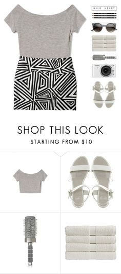 """""""step it up"""" by via-m ❤ liked on Polyvore featuring Faith, Nikon, T3 and Christy"""