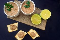 This is a lovely dip with the slight kick of the smoked paprika. Serve it with crackers, pita bread, crostinis etc.. It makes a great lunchbox add-on.
