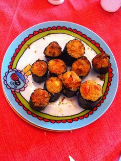 Zenzero e caffè: Tronchetti di zucchine con cous cous, pomodoro e f...