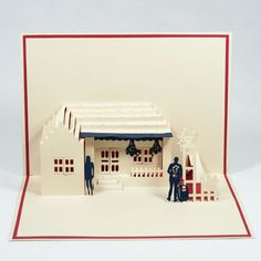 Sweet House Pop Up Card #popupcardvietnamsupplier #3dcardswholesales #charmpopcards #sweet #house