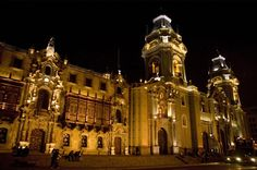 The Plaza de Armas is the main square in #Lima, #Peru. The city is a mixture of…