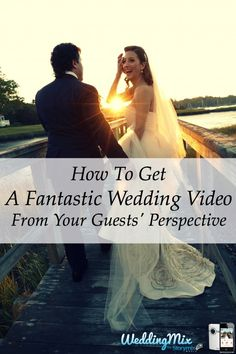 Every couple can now afford a beautifully creative wedding video! Use the free WeddingMix app and HD cameras to collect every guest photo & video - then pro-editors turn your favorite moments into your unique, affordable wedding video!