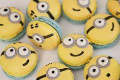 Macarons Minion – Sunny Délices