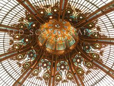 Glass Dome, Galeries Lafayette, Paris