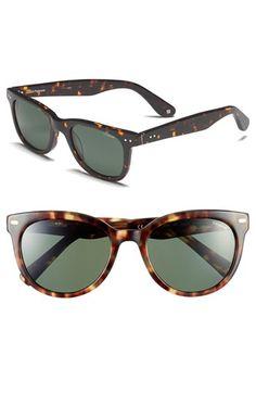 2ce51d1c13 Women s Polaroid Eyewear 54mm Retro Polarized Sunglasses - Havana Tokyo  Polarized Sunglasses