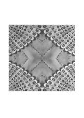 Retro bw silk square - Silk Square Scarf by Csaba Friss Square Scarf, Grey And White, Kids Rugs, Silk, Retro, Unique, Artist, Beautiful, Design