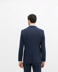 ZARA - MAN - DARK BLUE SUIT