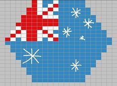 Australia flag by swamps42 on Ravelry