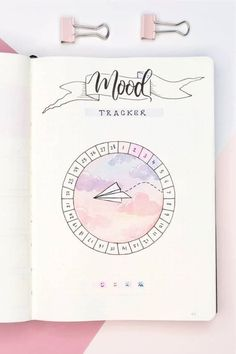 18 Bullet Journal Mood Tracker Ideas For February 2020 - Crazy Laura <br> Are you wanting to start tracking your feelings but need some inspiration for your bujo? Check out these super cute February mood tracker ideas! Bullet Journal Tracker, Bullet Journal School, February Bullet Journal, Bullet Journal Banner, Bullet Journal Notebook, Bullet Journals, Bullet Journal Markers, Bullet Journal Netflix, Bullet Journal Headers