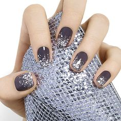 crystal chic by essie - super-chic dreams do come true. mirror ball party over stone-cold fox gray create an icy hot look perfect for a night to remember.