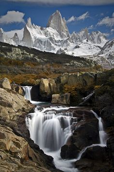 Autumn Waterfall - Martin Alejandro Bordagaray