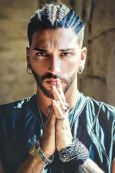 26 Undercut Men Ideas To Emphasize Your Masculinity Braided Style With Undercut Fade ❤️ Want to find a suitable undercut men hairstyle? Short curly undercut fade, messy cuts for long hair, modern disconnected cuts, braids with bun and lots of cool styles Curly Undercut, Undercut Men, Mens Braids Hairstyles, Cool Hairstyles, Hairstyle Short, Hairstyles Haircuts, Short Haircut, Popular Haircuts, Haircuts For Men
